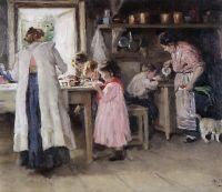 На кухне. 1913