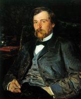 Портрет художника Иллариона Михайловича Прянишникова. 1883