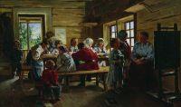 В сельской школе. 1883