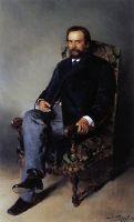 Портрет И.Е.Цветкова. 1890
