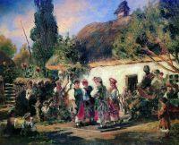 Праздник на Украине. Конец 1870-х - начало 1880-х