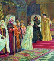 Выбор невесты царем Алексеем Михайловичем