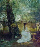 В саду. Вторая половина 1870-х