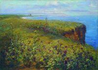 Пейзаж (Море и цветы). Начало 1890-х
