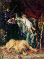 В мастерской художника. 1881