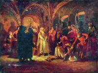 Боярин Морозов перед Иоанном Грозным