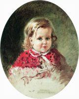 Портрет девочки Жени. 1860-е