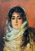 Портрет жены художника Ю.П.Маковской. 1887