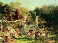 Весенняя вакханалия. 1891