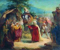 Встреча Исаака с Елеазаром. 1858
