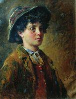 Портрет итальянского мальчика
