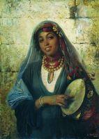 Восточная женщина (Цыганка). 1878