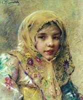 Портрет девочки. 1900-е