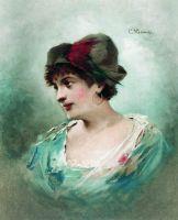 Портрет Марии Петипа. 1900-е