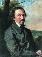 Портрет Н.А.Некрасова. 1856