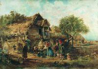 После базара (Деревенская сцена). 1876