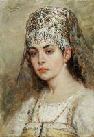 Боярышня. 1880-е