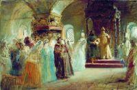 Выбор невесты царем Алексеем Михайловичем. 1887