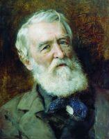 Портрет писателя Д.В.Григоровича