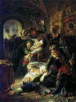 Агенты Дмитрия Самозванца убивают сына Бориса Годунова2. 1862