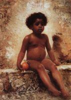 Арабский мальчик с апельсином. 1870-е