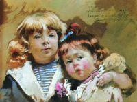 Константин и Ольга Маковские. 1894