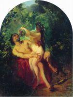 Сатир и Нимфа. 1863
