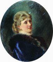 Портрет Худековой. 1885