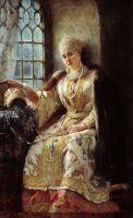 Боярыня у окна. 1885