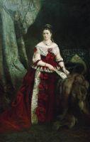 Портрет графини Веры Сергеевны Зубовой. 1877