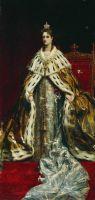 Портрет императрицы Александры Федоровны. Конец XIX века