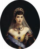 Портрет императрицы Марии Федоровны - супруги императора Александра III