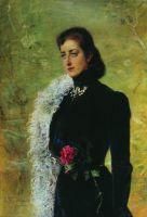 Портрет В.В.Бахрушиной, урожденной Носовой. 1900-е