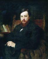 Портрет композитора М.П.Азанчевского. 1877