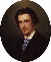 Портрет В.Е.Маковского, брата художника. 1868