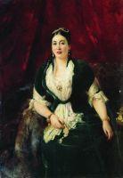 Портрет купчихи Е.С.Расторгуевой. 1885