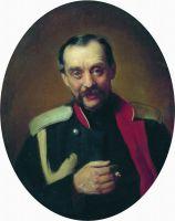 Портрет композитора Ц.А.Кюи