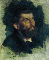 Голова мужчины. 1885