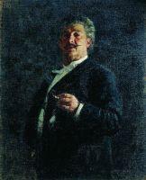 Портрет М.О.Микешина. 1888