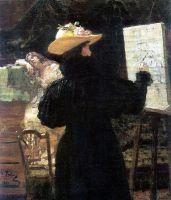 М.К.Тенишева за работой. 1897