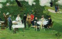 Пикник. 1890-е
