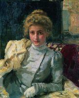 Блондинка (Портрет Ольги Тевяшевой). 1898