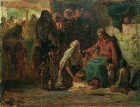 Благословение детей (на евангельский сюжет). 1890-е