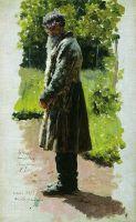 Старый крестьянин. 1885