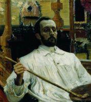 Портрет художника Д.Н.Кардовского. 1896-1897