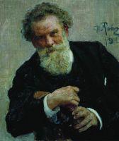 Портрет писателя Владимира Галактионовича Короленко. 1912