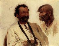 Два украинских крестьянина. 1880