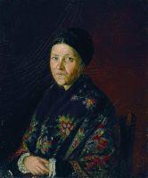 Портрет А.С.Бочаровой, тетки художника. 1859