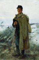 На родину. Герой минувшей войны. 1878