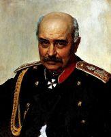 Портрет М.И.Драгомирова. 1889